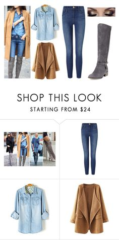 """""""Sweet"""" by izzy-maddi ❤ liked on Polyvore featuring Frame Denim and Charles David"""