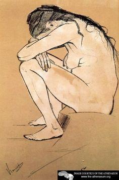 Sorrow by Vincent van Gogh - 1882