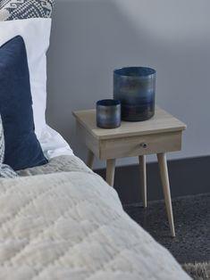 Alnes rammeseng 150x200 cm | Møbelringen Nightstand, Master Bedroom, Table, Handmade, Furniture, Home Decor, Master Suite, Hand Made, Decoration Home