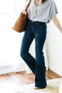 8 tips para mujeres con caderas anchas | Belleza Outfit Jeans, Hijab Outfit, Jeans Outfit For Work, Work Jeans, Dress Up Jeans, Swag Dress, Orange Camo Pants, Jeans Orange, Blue Jeans