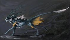 Vapor Creature by Exileden