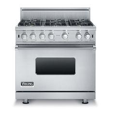 "36""W. Sealed Burner Gas Range (VGCC536) - Viking Range, LLC"