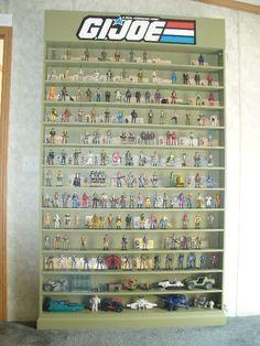 Display Case for 12 inch Figures Needed - HissTank.com - G.I. Joe