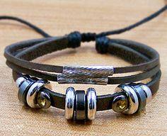 mens bracelets cuff wristband for men women Surfer by lifesunshine, $7.99