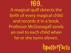 HP facts!