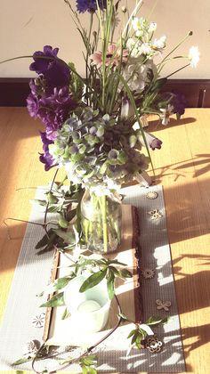 Sommer Wildblumen Tischdeko
