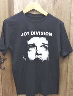 This item is unavailable Vintage Band T Shirts, Joy Division, Vintage Looks, My Etsy Shop, Handmade Items, Trending Outfits, Check, Mens Tops