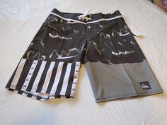 Quiksilver boardshorts 38 board swim shorts trunks Men's Remix the mix 38x20 NEW #Quiksilver #BoardShorts