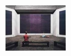 THOMAS STRUTH (B.1954) The Rothko Chapel, Houston, 2007 signed 'Thomas Struth' (on a label affixed to the backing board) chromogenic print face-mounted on Diasec in artist's frame image: 66 7/8 x 89in. (170 x 226 cm.) overall: 71 ¾ x 93 ¾in. (182 x 238.2cm.) Executed in 2007, this work is number seven from an edition of ten