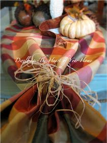DWELLINGS-The Heart of Your Home: A TOUCH OF FALL...