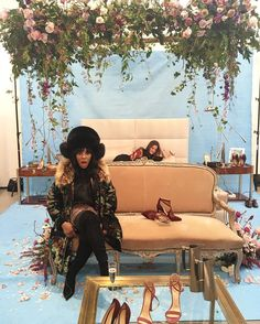 """#NYFW #junesfashionfairytales Stopped off @chloegosselin1 Boudoir to see her FW16 collection! super sexy """