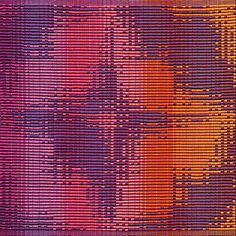 Rosalie Neilson: Portland Handweavers' Guild   Pansy Forth   rep   Portland, Oregon, U.S.A.   c. 2013   16-shaft