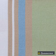 Gummerson - French-Stripe Coast Uncoated 150cm   Ideal Drape Makers