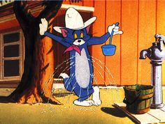 """Tom and Jerry """"Posse Cat"""""""