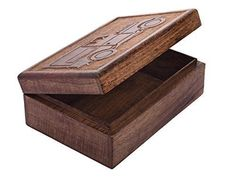 Mothers Day Gift Handmade Wooden Keepsake Storage Trinket Box Brown Vintage Car #StoreIndya