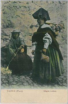 VINTAGE POSTCARD - PERU / Cuzco