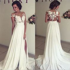 Amazing Summer Beach Wedding Dres Find it here=》bit.ly/longbeachweddingdress