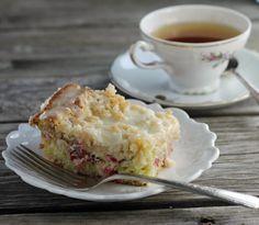 Cranberry orange coffee cake