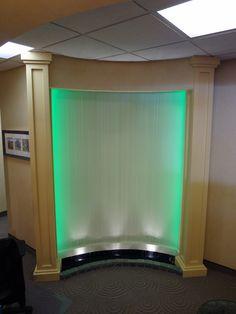 Custom Rain Curtain For Doctoru0027s Office   Www.bluworldusa.com