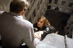 Frantic: Harrison Ford and Emmanuelle Seigner manage not to tear each other's clothes off in Paris. He's not even slightly tempted. Nope, not our Harry.