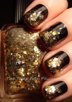 gold glitter to the XXXXXXX-TREME!