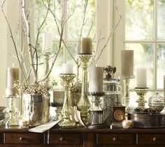 love this look for the holidays!  already getting excited about decorating for christmas (a little early I know!)