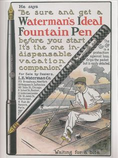 Waterman's Ideal Fountain Pen