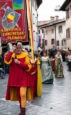 Pumpkin festival in Venzone Friuli - Italy