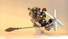 Cloud Skipper, by Adrian Florea. Cloud Skipper, by Adrian Florea #spacemonkey who did it again - the best #LEGO moc'er ever!