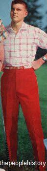 Shirt and Slacks 1959