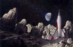 Bob Eggleton - Project Moonbase / The Science Fiction Gallery