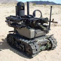 S Marine Corps wants new unmanned tank The Marine Corps Warfighting Laboratory hopes that a machine gun toting robot can one day provide more firepower to foot patrols. Qinetiq's Modular Advanced Armed Robotic System (MAARS) a tracked [. Military Robot, Military Humor, Military Weapons, Autonomous Robots, Micro Drone, Sci Fi Weapons, Us Marine Corps, Military Equipment, Panzer