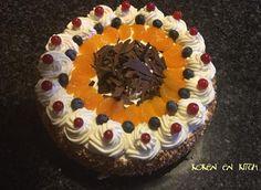 Koken en Kitch: Slagroomtaart met chocolade en fruit