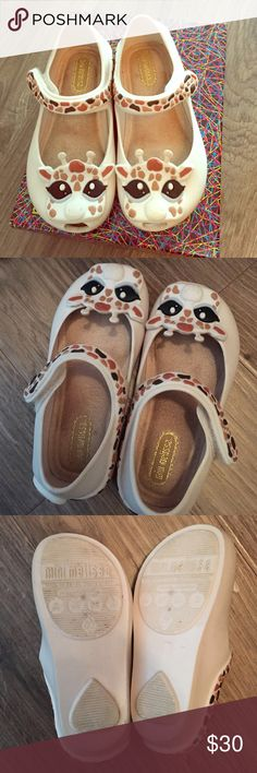 94eb77ace336 Mini Melissa Giraffe size 7 These cute giraffe MM have been worn a couple  of times