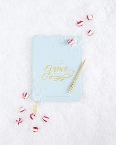 Grace not Perfection - Give the gift of quiet time and reflection with the Simplified Journal™ by Emily Ley. | $32 || Photo by @shaynicole