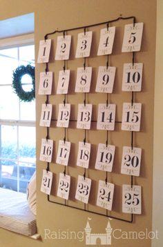 Nativity Advent Calendar {Free Download}