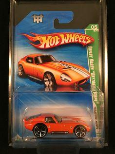 2010 Hot Wheels Treasure Hunt SHELBY COBRA DAYTON COUPE Orange w/ PROTECTO  #HotWheels #Shelby Toys R Us Kids, Boy Toys, Toys For Boys, Hot Wheels Treasure Hunt, Super Treasure Hunt, Crazy Cars, Weird Cars, Life Car, Matchbox Cars