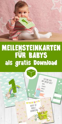 Neuester Trend: Milestone Baby Card Milestone cards to print out for yourself The Babys, Gratis Download, Diy Bebe, Baby Kind, Baby Milestones, Baby Party, Funny Babies, Kids And Parenting, Parenting Humor