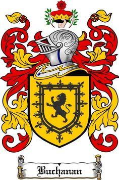buchanan family crest buchanan coat of arms