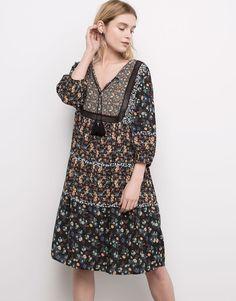 Pull&Bear - woman - dresses - dress - black - 05390338-V2016