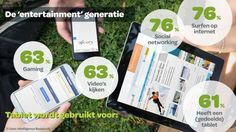Digital natives in The Netherlands by Frankwatching tablet use