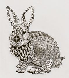 Ben Kwok's Template No 3 - Rabbit | Flickr - Photo Sharing!
