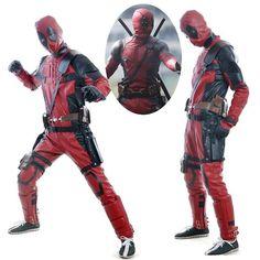 Deadpool Cosplay including all cosplay accessories boots cover, gun bag, waist belt, mask.