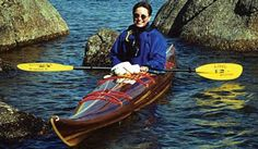 Guillemot Expedition Single Strip-Built Sea Kayak from Nick Schade