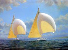 Tim Thompson, 1951 ~ Seascapes Painter