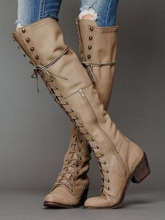 Cheap motorcycle rain boots, Buy Quality motorcycle winter boots directly from China motorcycle wheel rim stripes Suppliers: 2017 NEW ARRIVAL MOTORCYCLE winter long boots low heels square heel design knee-high height can keep warm in winter nude color Long Boots, Lace Up Boots, Over The Knee Boots, Leather Boots, Brown Leather, Cute Shoes, Me Too Shoes, Shoes Uk, Bootie Boots