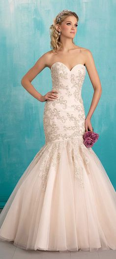 Search for the perfect #WeddingDress on our galleries - Allure Bridals 2016