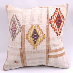 Kilim Pillow Cover 4416 - Weaved Arts