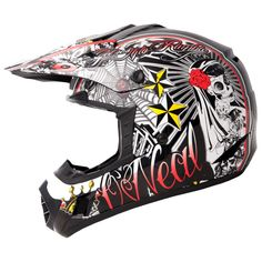 Oneal 3 Series Kids El Loco Motocross Helmet  Description: The O'Neal 3 Series Kids 2013 El Loco MX Helmet is packed       with features…              Specifications include                      Crafted from durable polycarbonate                    Rear vents for improved aerodynamics                    Replacement liners / cheek...  http://bikesdirect.org.uk/oneal-3-series-kids-el-loco-motocross-helmet/