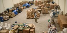 Seized counterfeit goods at the Anti-Counterfeit Agency godown in Nairobi two years ago. PHOTO | FILE